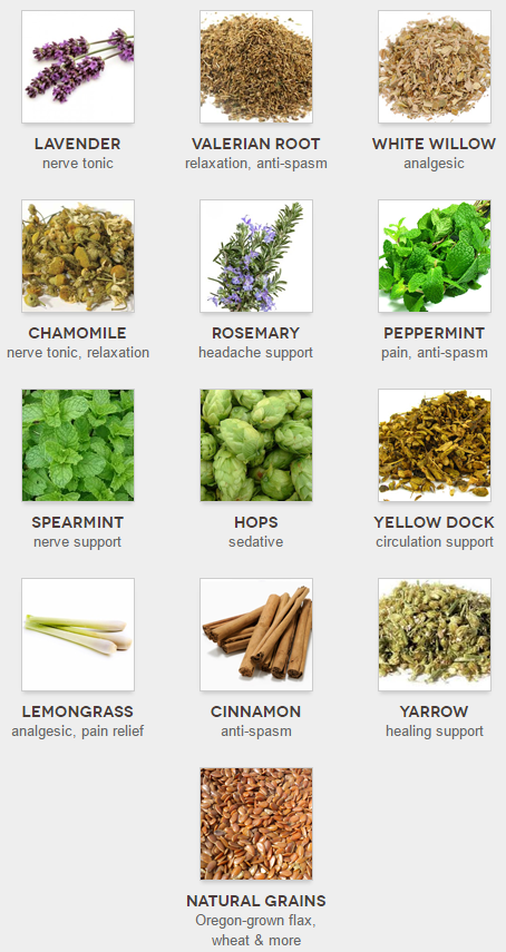 12 herbs and grains