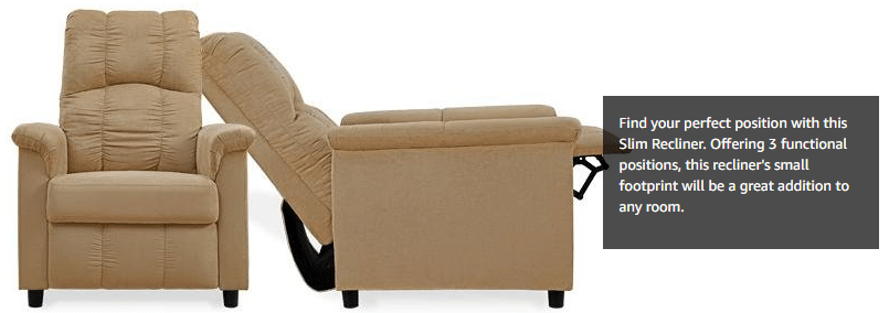 ... reclining the chair. It has no lever to move it. It does not rock glide or swivel. It reclines to about 140-degrees with 90-degrees being straight up.  sc 1 st  Best TENS Unit & Best Recliner For Relaxation Reviews   Buying Guide 2017 islam-shia.org