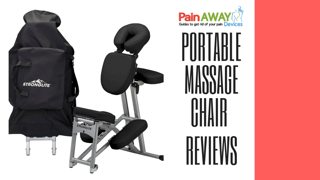 portable massage chair features a Lightweight, Foldable Tattoo Spa Massage Chair with wheels (only 19lbs), Black