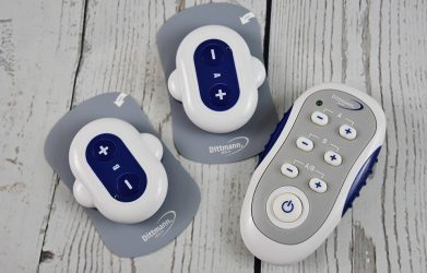 wireless tens unit on a table
