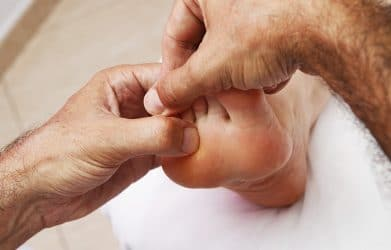 foot zoning massage