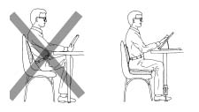 Fit seat cushiona nand lumber support for tall people