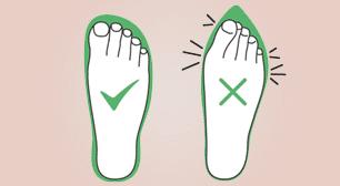 incorrect-footwear