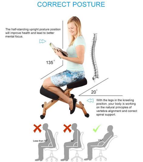 Top 5 Best Kneeling Posture Chair Reviews
