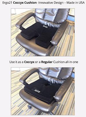 Shakti Inc Ergo21 Liquicell 174 Coccyx Seat Cushion Review
