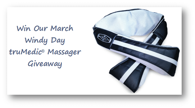 March Giveaway - truMedic Neck Massager