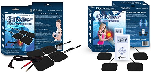 iReliev™ Top-Best TENS Massager Unit