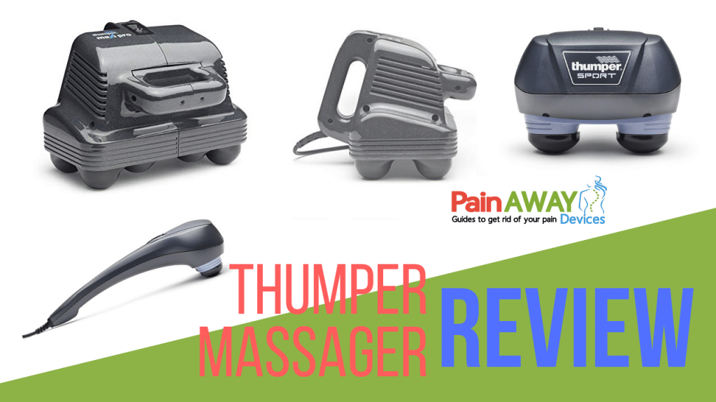 thumper massager with Variable speed from 20 to 40 Hz
