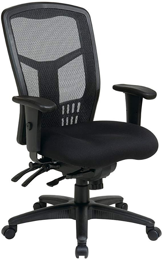 Office Star Mesh High-Back Office Chair