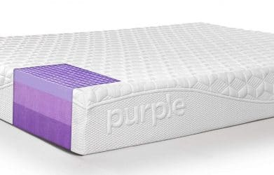 Purple bed mattress