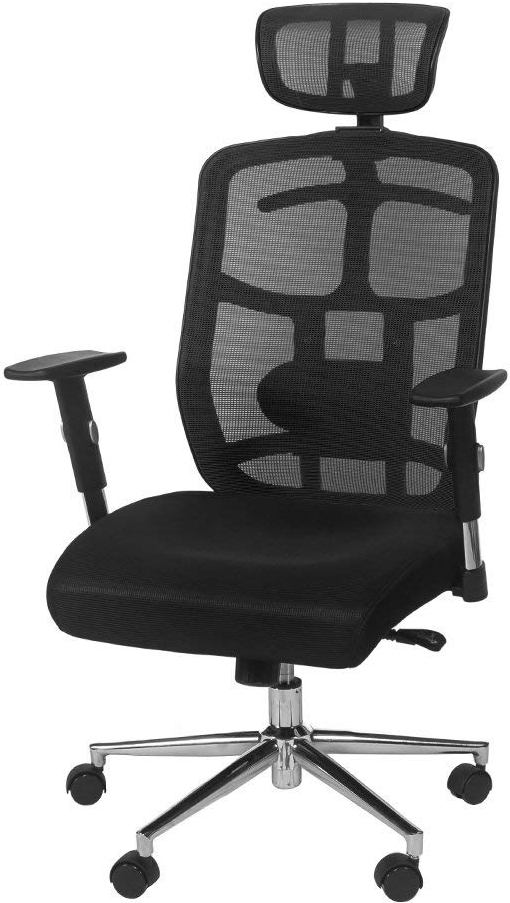 TOPSKY® Mesh Computer Office Chair With Headrest