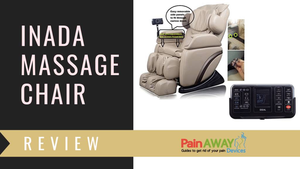 inada massage chair customizes each massage session to your individual profile, full upper body massage provides just the right amount of pressure
