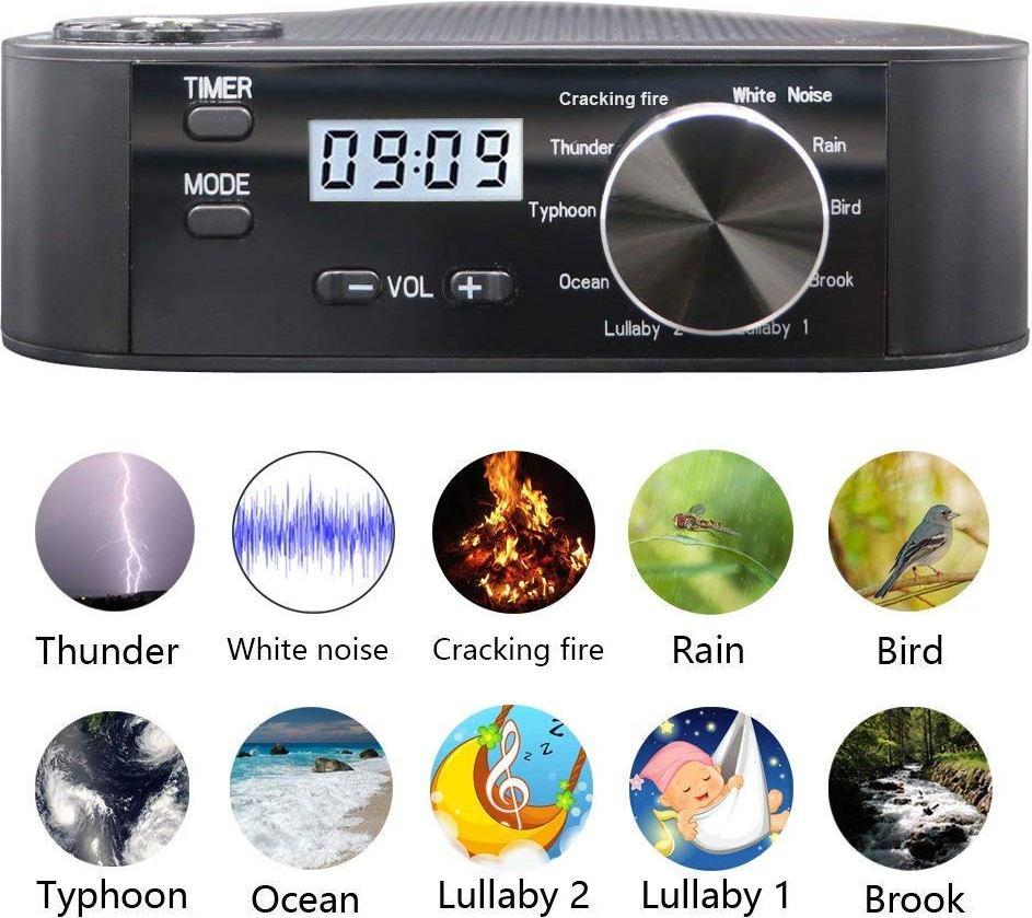AGPtEK® Sleep Sound Therapy System White Noise Machine