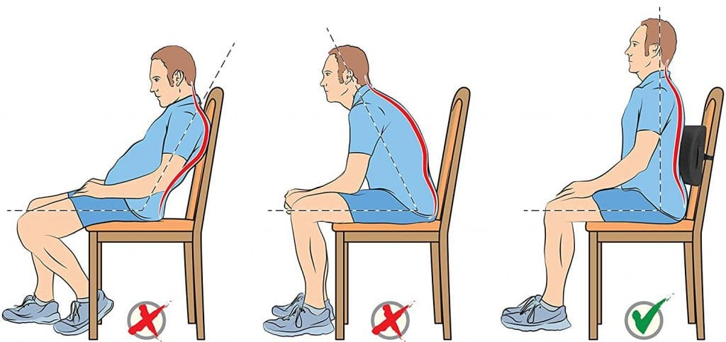 Adjustable Lumbar Support Or Cushion Lumbar Support