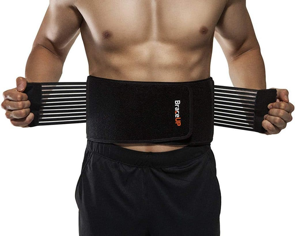 BraceUP Stabilizing Lumbar Lower Back Brace