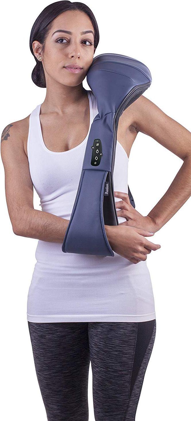 Bruntmor™ Cordless Shiatsu 3D Heat Kneading Massager