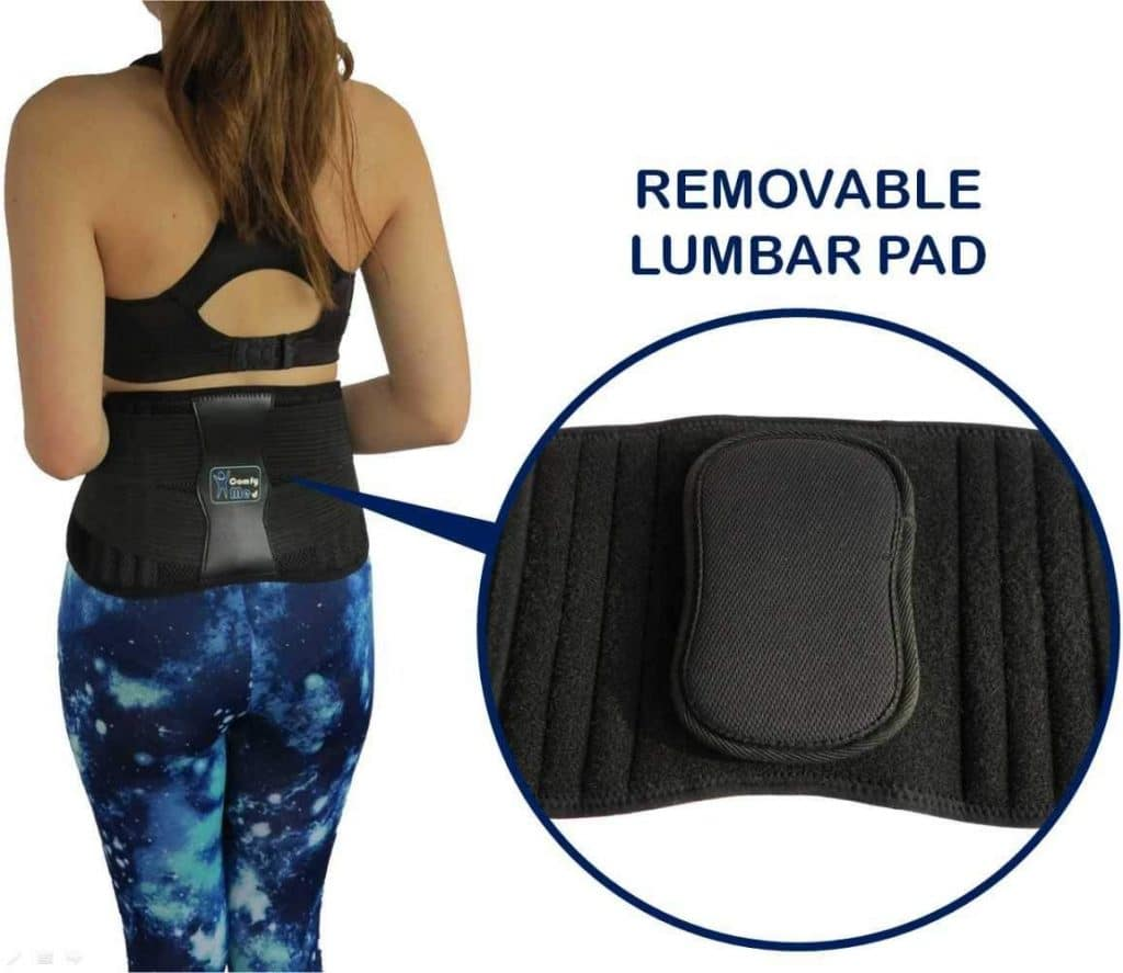 ComfyMed Adjustable Back Brace