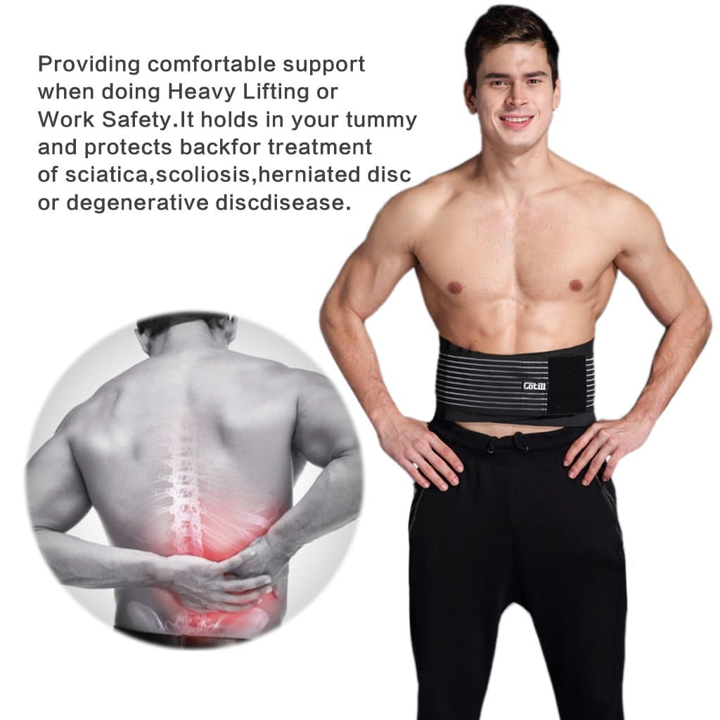Cotill Lumbar Lower Back Brace And Support Belt