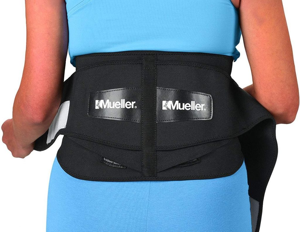 Mueller® Adjustable Lumbar Back Brace