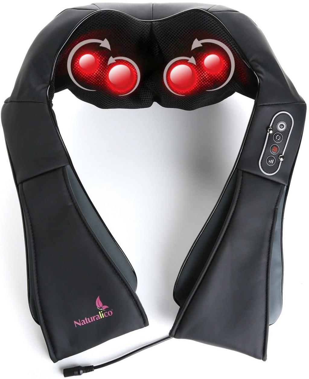 Naturalico® Shiatsu Massager With Heat
