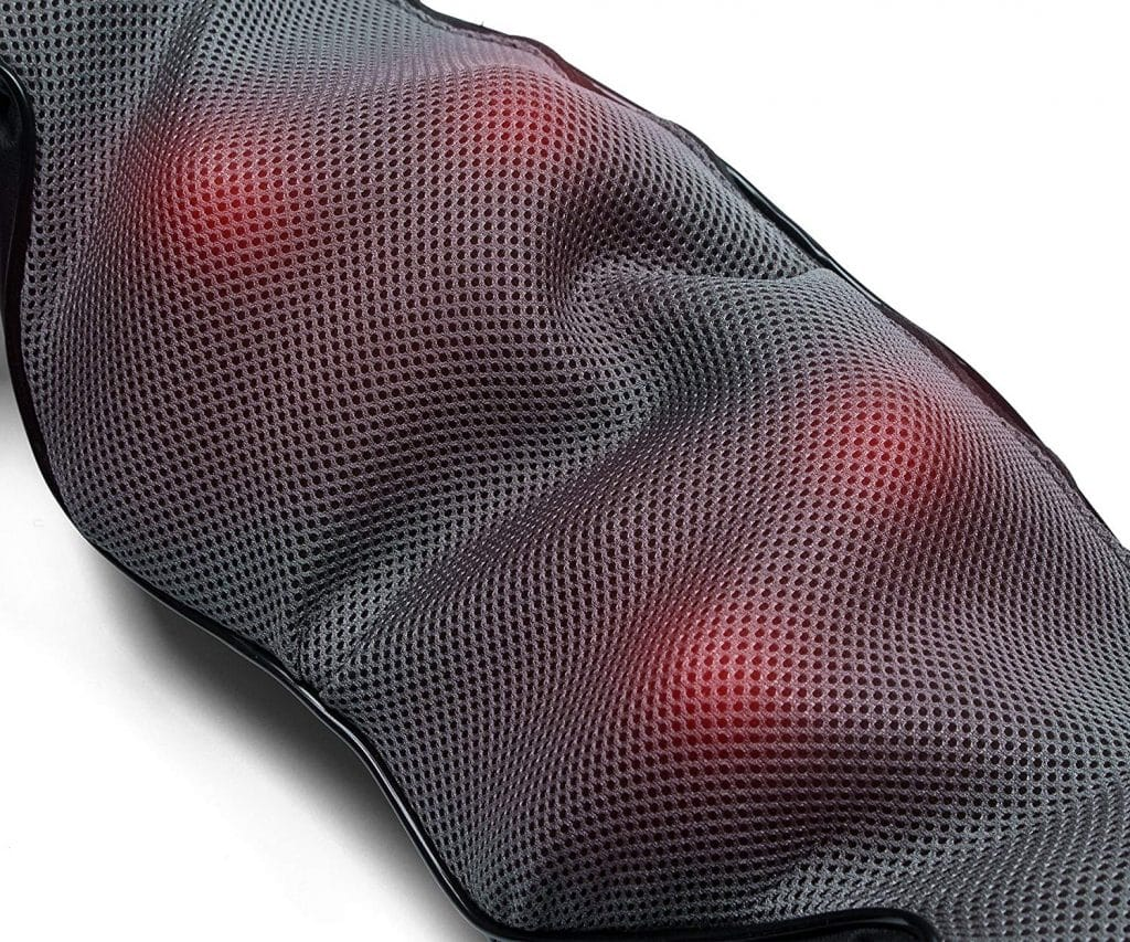Nekteck Shiatsu Deep Kneading Massager With Heat