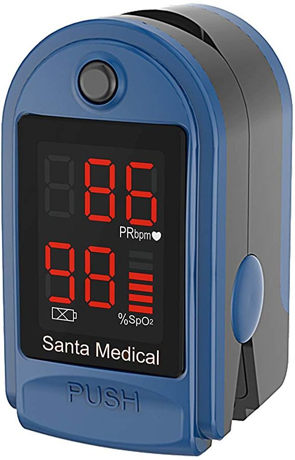 Santamedical™ Fingertip Pulse Oximeter Blood Oxygen Saturation Monitor