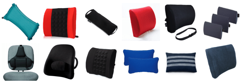 Types Of Lumbar Support