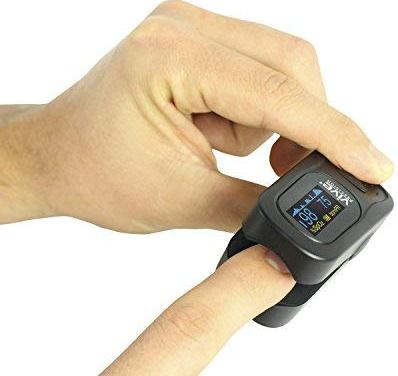 VIVE® Precision Fingertip Pulse Oximeter Blood Oxygen Saturation Monitor